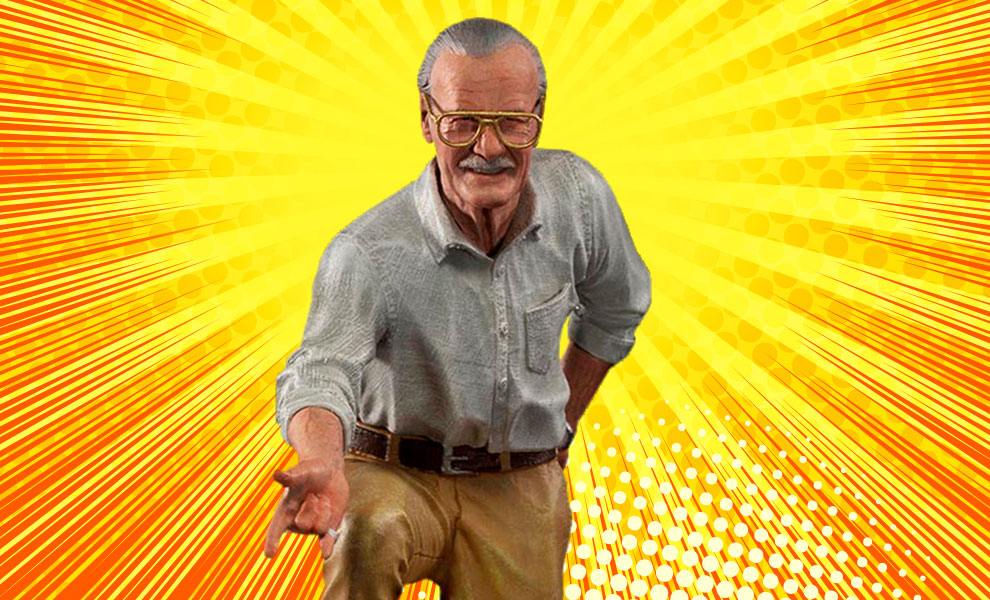 Gallery Feature Image of Stan Lee Deluxe 1:10 Scale Statue - Click to open image gallery