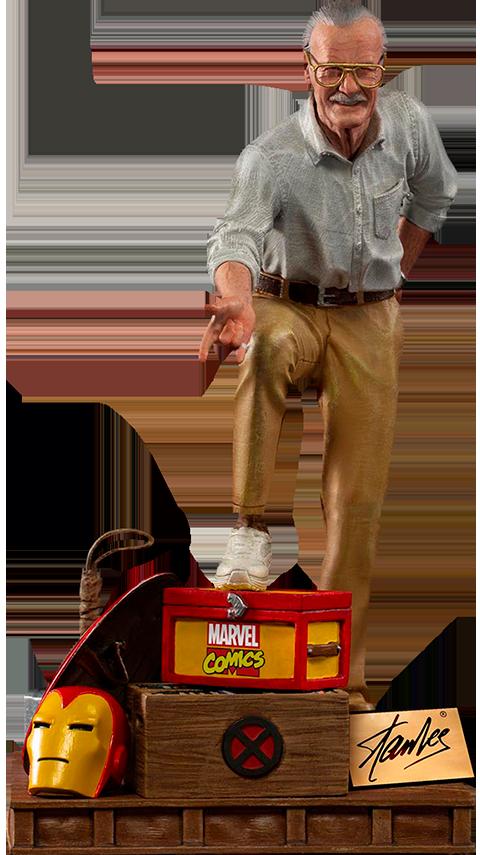 Iron Studios Stan Lee Deluxe 1:10 Scale Statue