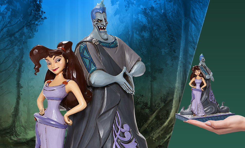 Gallery Feature Image of Meg & Hades Figurine - Click to open image gallery