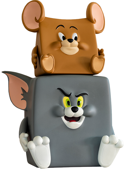 Soap Studio Tom & Jerry Action Mishap Figure Collectible Set