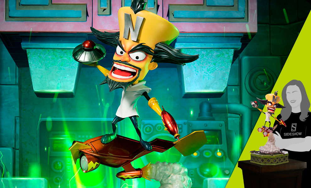 Gallery Feature Image of Dr. Neo Cortex Statue - Click to open image gallery