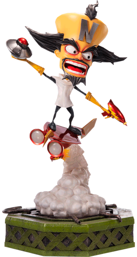 First 4 Figures Dr. Neo Cortex Statue