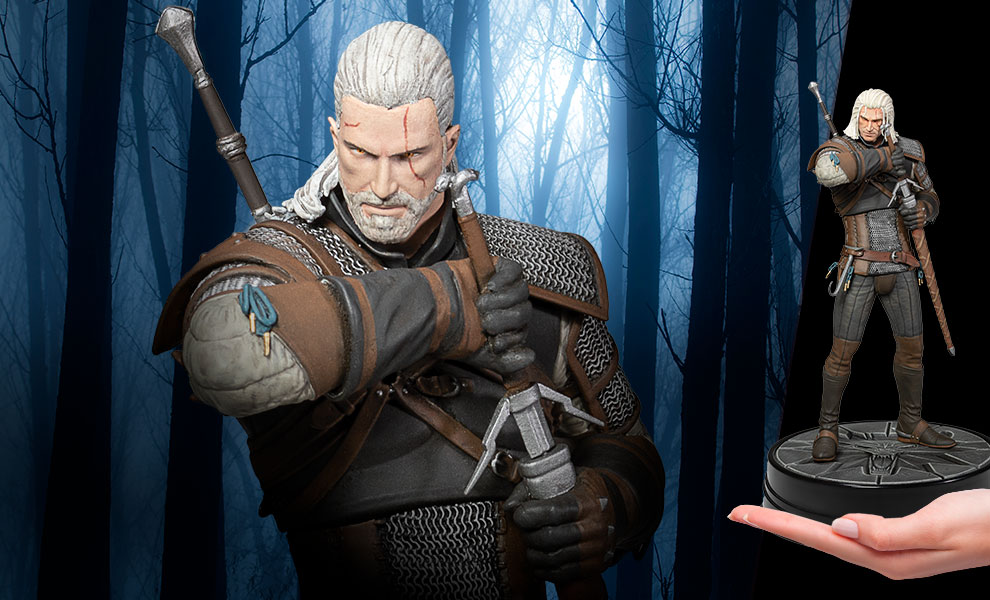 Gallery Feature Image of Heart of Stone Geralt (Deluxe) Figure - Click to open image gallery