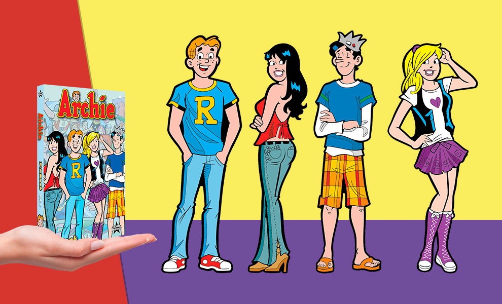 Gallery Feature Image of Archie Comics Vol. 7 Pinbook Collectible Pin - Click to open image gallery