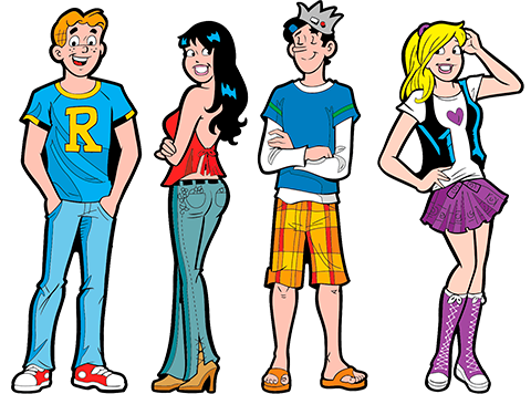 Icon Heroes Archie Comics Vol. 7 Pinbook Collectible Pin