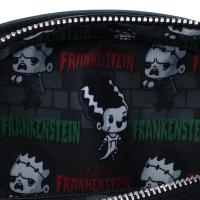 Gallery Image of Frankenstein & Bride of Frankenstein Crossbody Bag Apparel