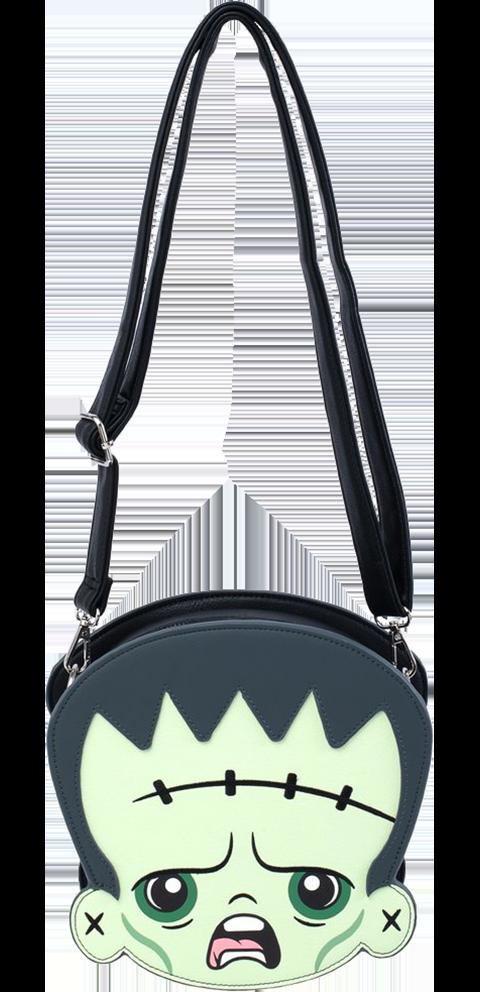 Loungefly Frankenstein & Bride of Frankenstein Crossbody Bag Apparel