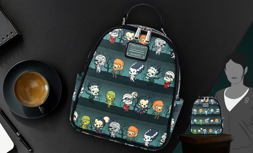 Gallery Feature Image of Universal Monsters Chibi Backpack Apparel - Click to open image gallery