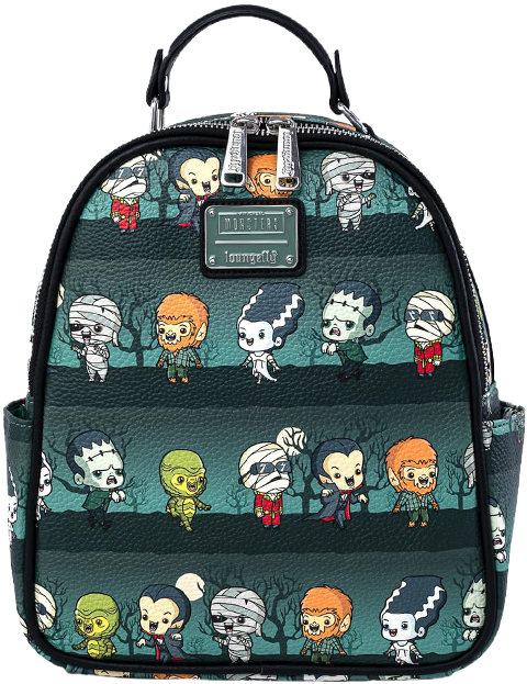 Loungefly Universal Monsters Chibi Backpack Apparel
