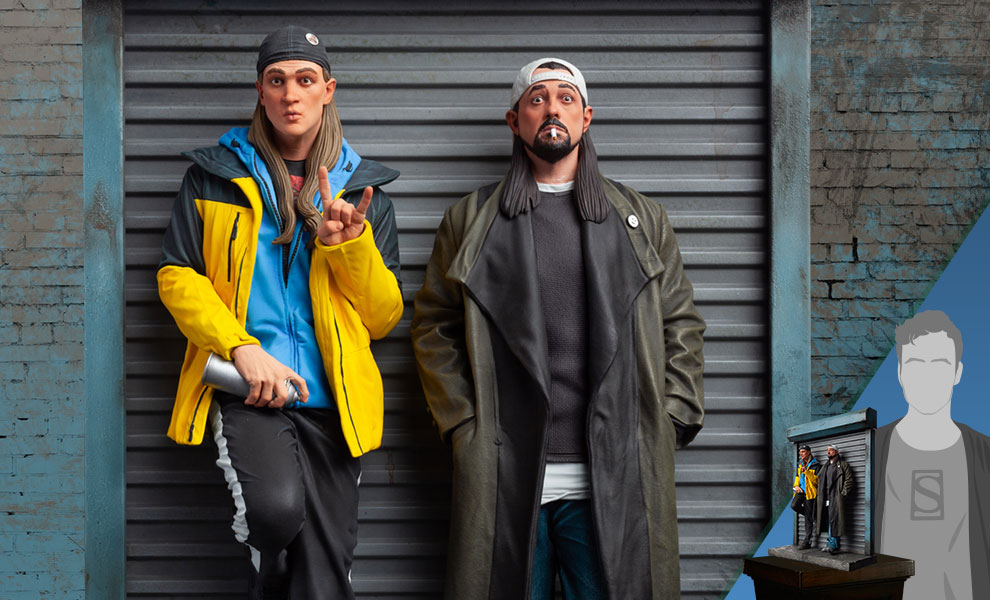 Gallery Feature Image of Jay and Silent Bob Polystone Statue - Click to open image gallery