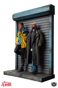 Gallery Image of Jay and Silent Bob Polystone Statue