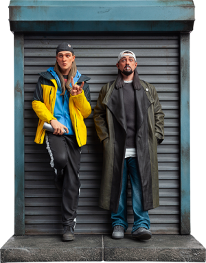 Jay and Silent Bob Polystone Statue