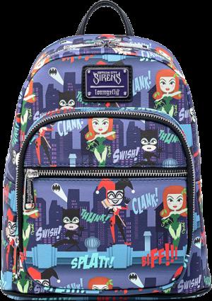 Ladies of DC AOP Mini Backpack Apparel