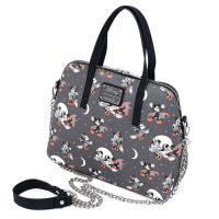 Gallery Image of Mickey and Minnie Halloween AOP Crossbody Apparel