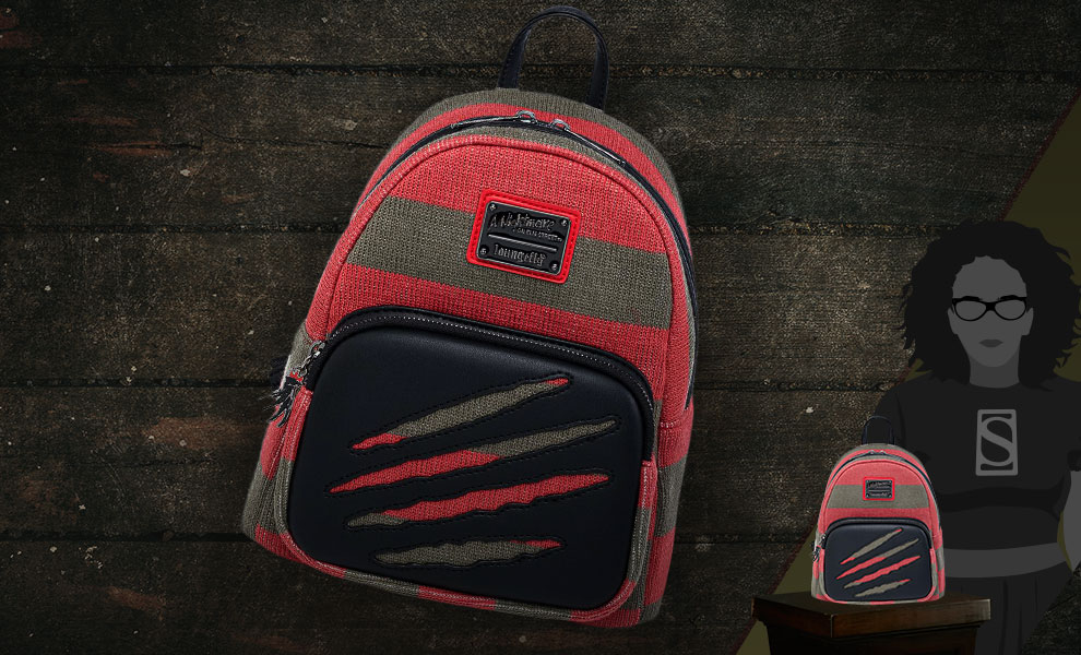Gallery Feature Image of Freddy Sweater Mini Backpack Apparel - Click to open image gallery