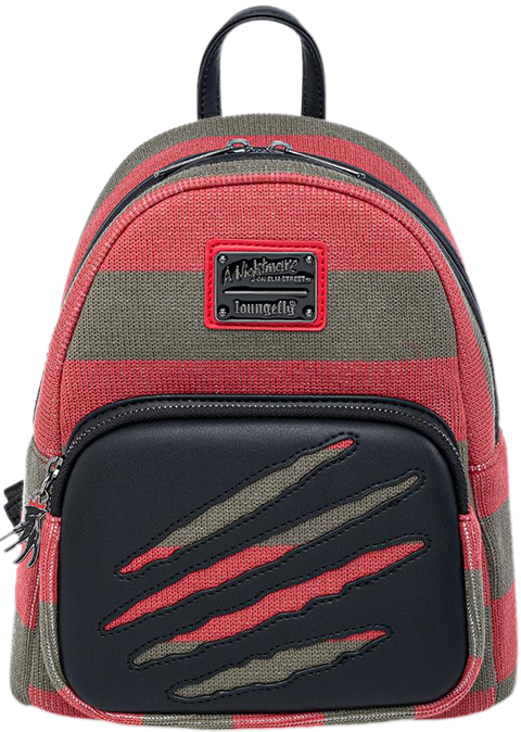 Loungefly Freddy Sweater Mini Backpack Apparel