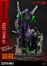 Gallery Image of Evangelion Test Type-01 Statue