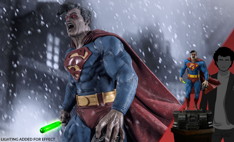 Gallery Feature Image of Superman (Deluxe Version) Statue - Click to open image gallery