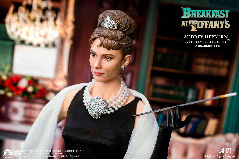 Nostalgic-Art Metall Untersetzer Audrey Hepburn Holly Golightly 46136