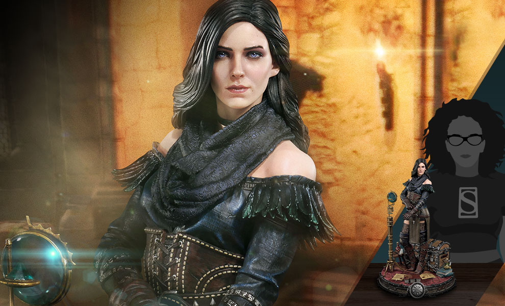 Gallery Feature Image of Yennefer of Vengerberg Alternative Outfit Statue - Click to open image gallery