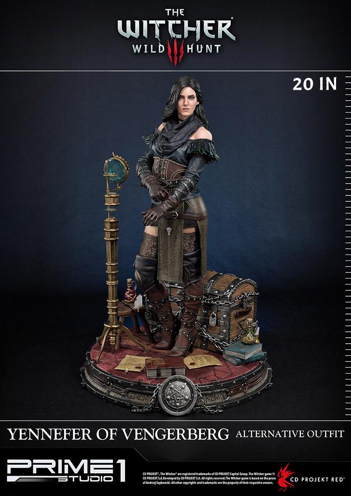 5 cm Yenefer bust Witcher Fanart|Model kit|Garage kit|Not painted