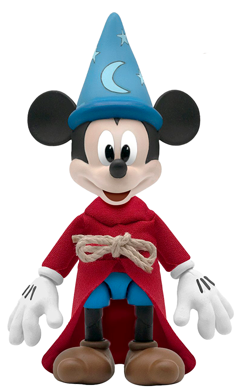 Super 7 Sorcerer's Apprentice Mickey Mouse Action Figure
