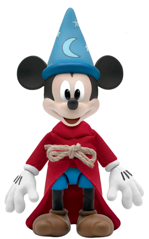 Sorcerer's Apprentice Mickey Mouse Action Figure