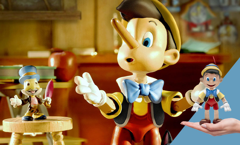 Gallery Feature Image of Pinocchio Action Figure - Click to open image gallery