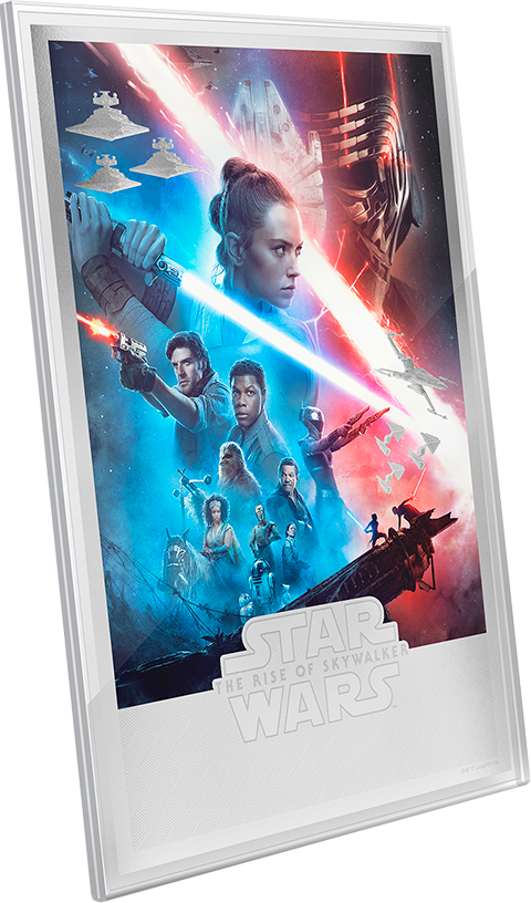 New Zealand Mint Star Wars: The Rise of Skywalker Silver Foil Silver Collectible