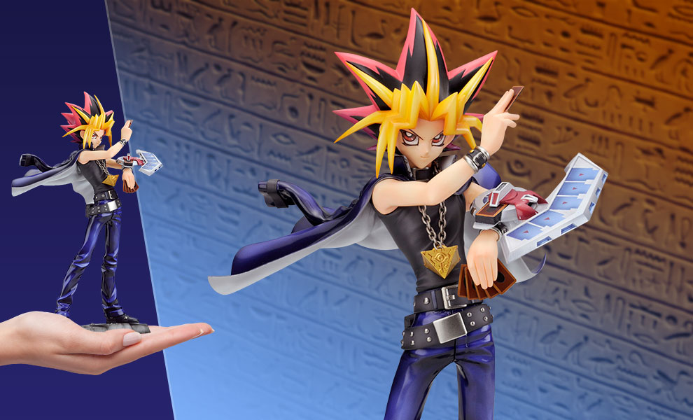 Gallery Feature Image of Yami Yugi Statue - Click to open image gallery