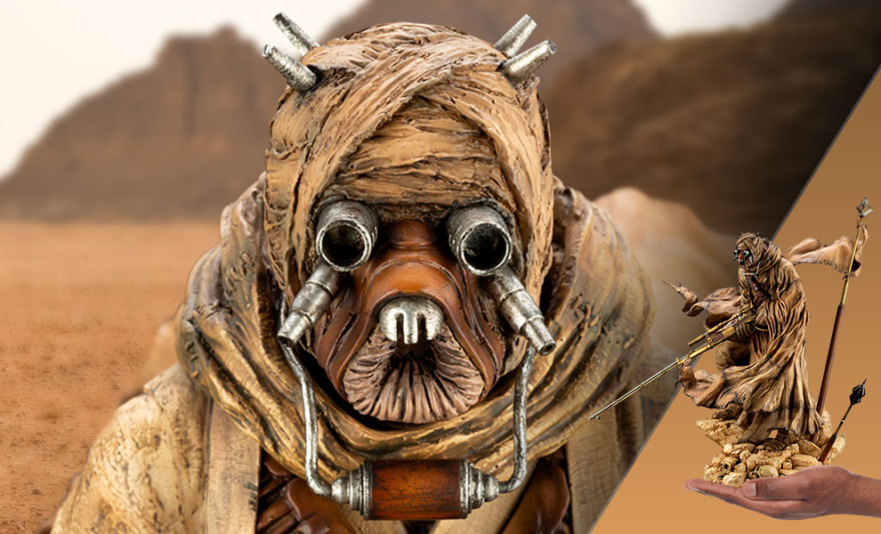 Gallery Feature Image of Tusken Raider Statue - Click to open image gallery
