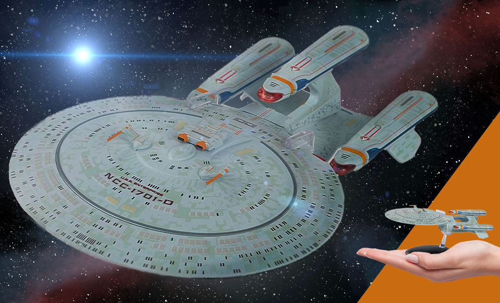 Gallery Feature Image of Future U.S.S. Enterprise NCC-1701-D (All Good Things) Model - Click to open image gallery
