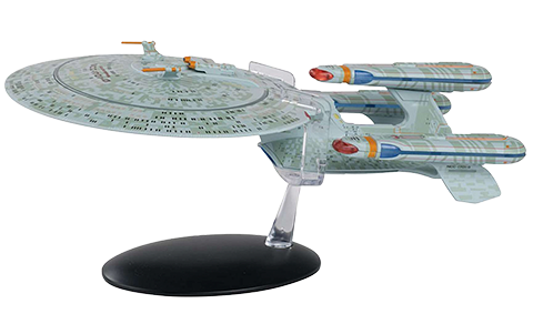 Eaglemoss Future U.S.S. Enterprise NCC-1701-D (All Good Things) Model