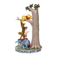 Gallery Image of Tree with Pooh and Friends Figurine