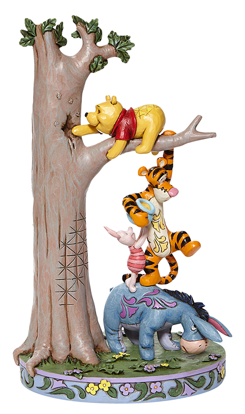 Enesco, LLC Tree with Pooh and Friends Figurine