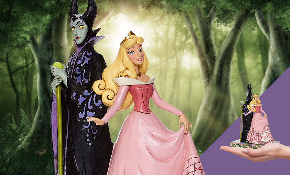 Gallery Feature Image of Aurora & Maleficent Figurine - Click to open image gallery