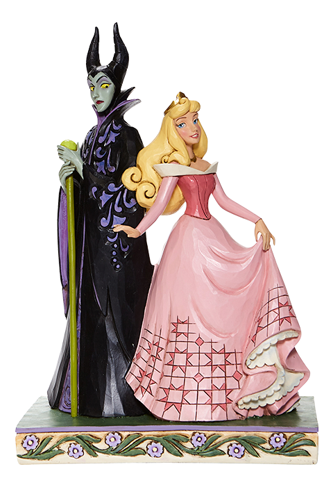Enesco, LLC Aurora & Maleficent Figurine