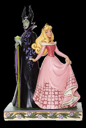 Aurora & Maleficent Figurine