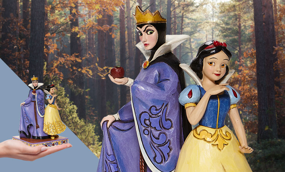 Gallery Feature Image of Snow White & Evil Queen Figurine - Click to open image gallery