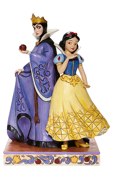 Enesco, LLC Snow White & Evil Queen Figurine