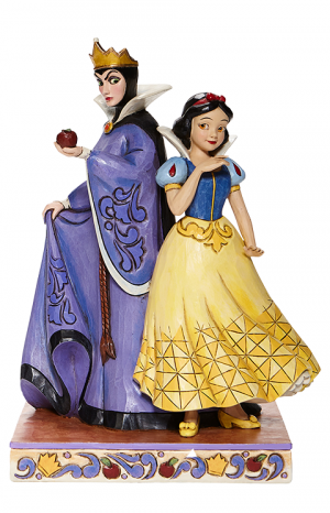 Snow White & Evil Queen Figurine
