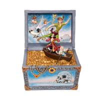 Gallery Image of Peter Pan Treasure Chest Scene Figurine
