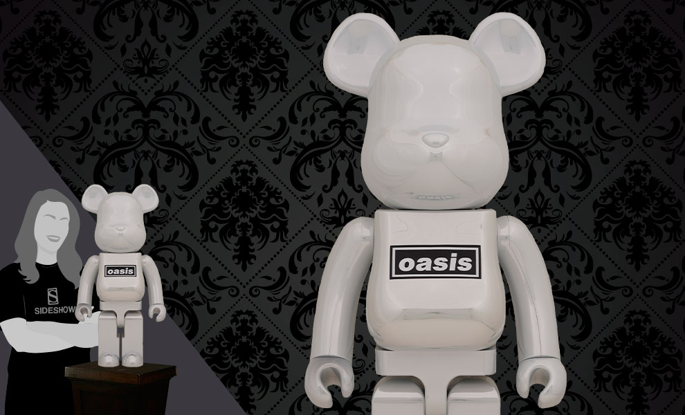 Gallery Feature Image of Be@rbrick Oasis White Chrome 1000% Bearbrick - Click to open image gallery