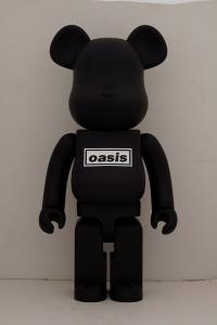 Gallery Image of Be@rbrick Oasis Black Rubber Coating 1000% Bearbrick