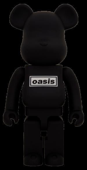 Be@rbrick Oasis Black Rubber Coating 1000% Bearbrick