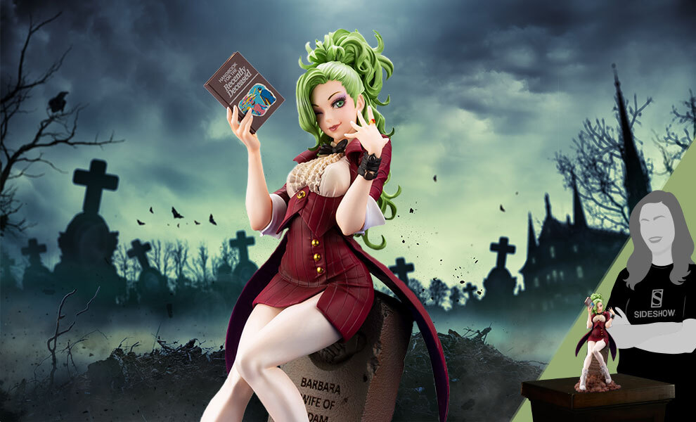 Gallery Feature Image of Beetlejuice (Red Tuxedo Version) Bishoujo Statue - Click to open image gallery