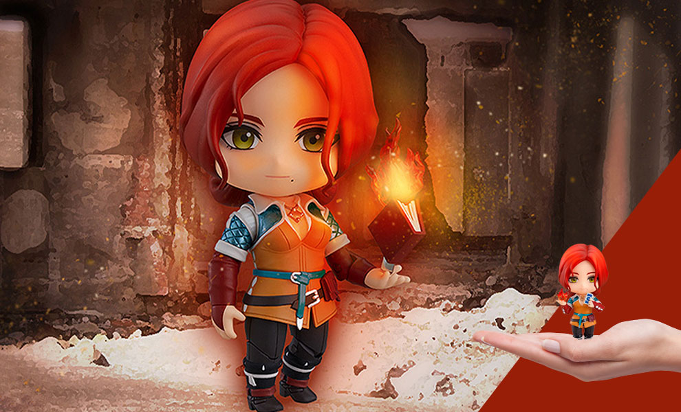 Gallery Feature Image of Triss Merigold Nendoroid Collectible Figure - Click to open image gallery