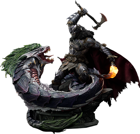 Prime 1 Studio Batman VS Joker Dragon (Deluxe Version) Statue