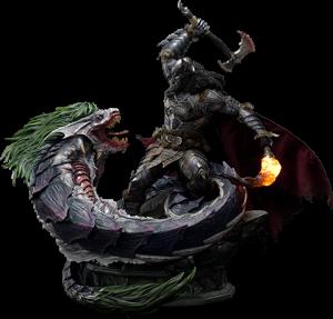 Batman VS Joker Dragon (Deluxe Version) Statue