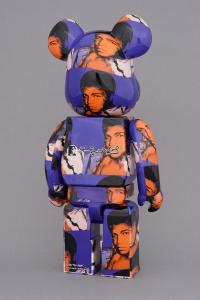 Gallery Image of Be@rbrick Andy Warhol's Muhammad Ali 100% and 400% Collectible Set